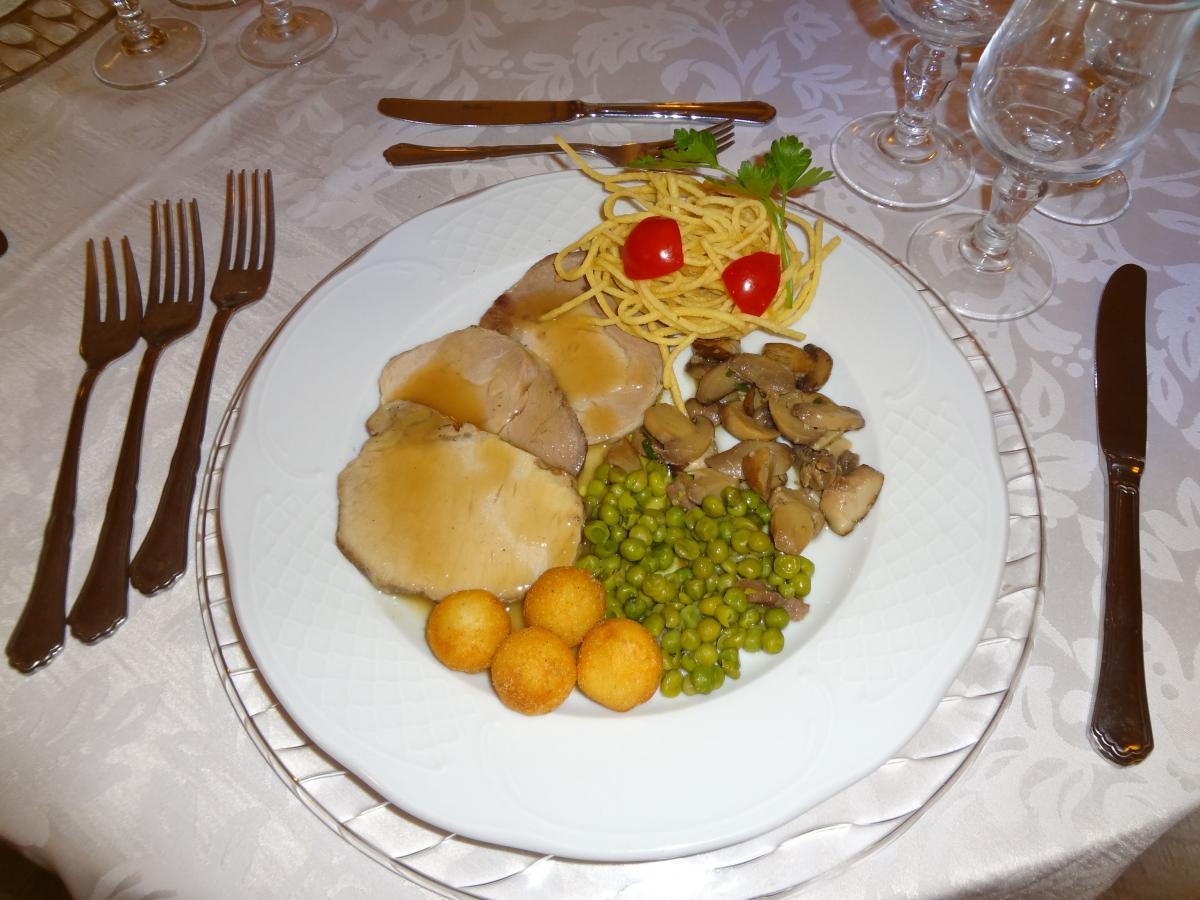 Secondi piatti ristorante il cigno eventiristorante il for Piatti ristorante